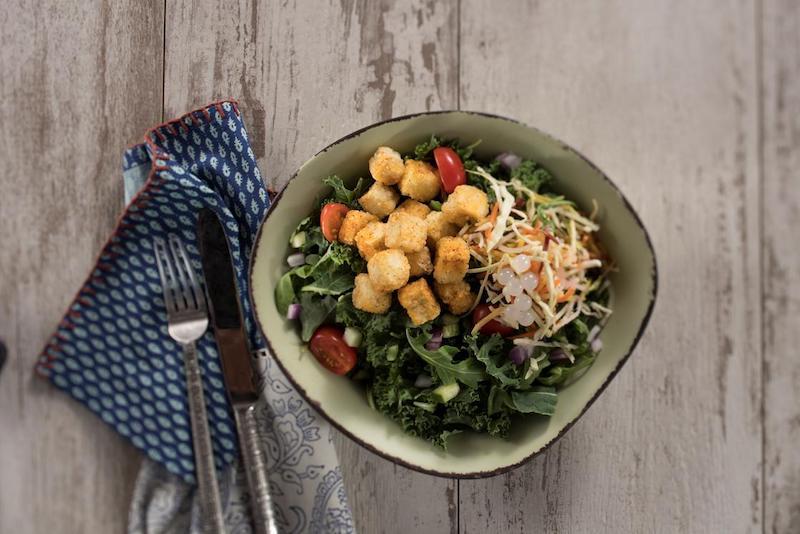 Comidas vegetarianas e veganas na Disney Orlando: prato vegano
