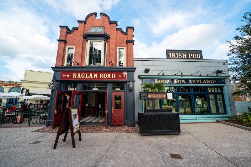 Melhores restaurantes para brunch na Disney Springs em Orlando: Reaglan Road Irish Pub & Restaurant