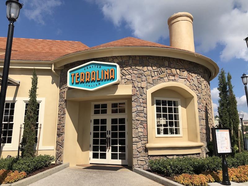 Melhores restaurantes para brunch na Disney Springs em Orlando: Terralina Crafted Italian