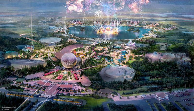 Parque Epcot da Disney Orlando: o novo parque Epcot