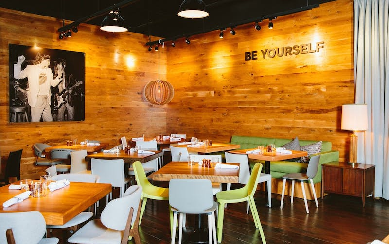 Restaurante Beatrix na Disney Springs em Orlando: decoração