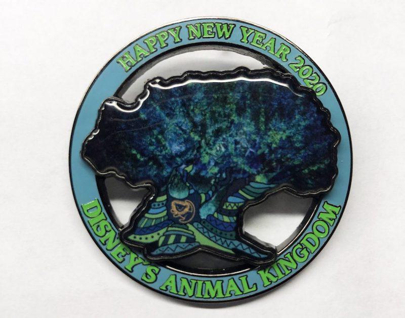 Pins de Ano Novo no Animal Kingdom da Disney Orlando: modelo exclusivo de Ano Novo