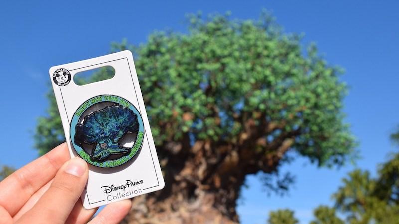 Pins de Ano Novo no Animal Kingdom da Disney Orlando