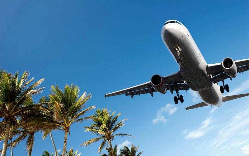 Viagem de avião para Miami