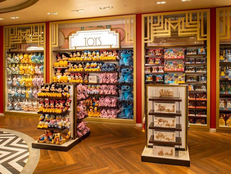 Loja Mickey's of Hollywood na Disney Orlando: brinquedos