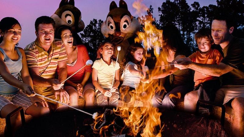 Disney Orlando para crianças: fogueira Chip'n Dale's Campfire Sing-a-long