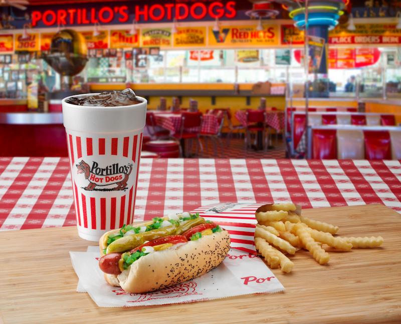 Restaurante Portillo's em Orlando: comida