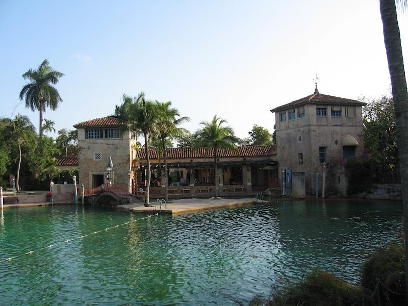 Venetian Pool em Coral Gables: estrutura