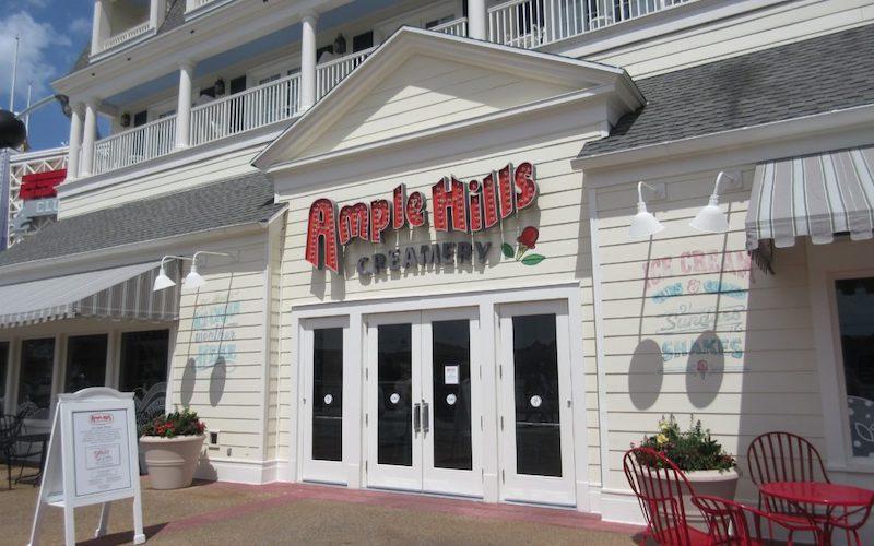 Sorveteria Ample Hills Creamery na Disney Orlando: fachada