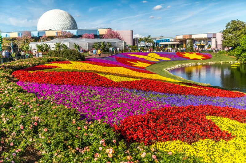 Calendário de lotação dos parques da Disney Orlando em 2020: Epcot International Flower & Garden Festival