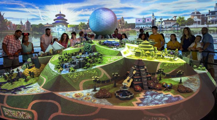Epcot Experience no parque Epcot da Disney Orlando: Imagineer Exhibit