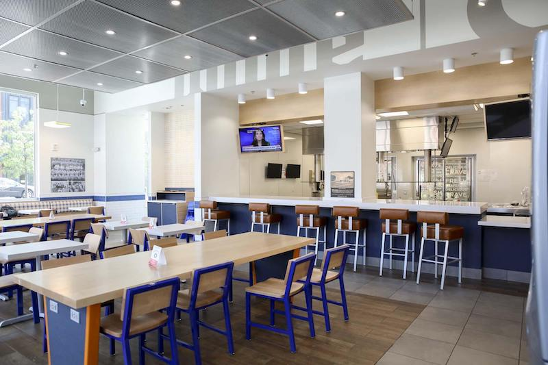 Restaurante White Castle em Orlando: interior