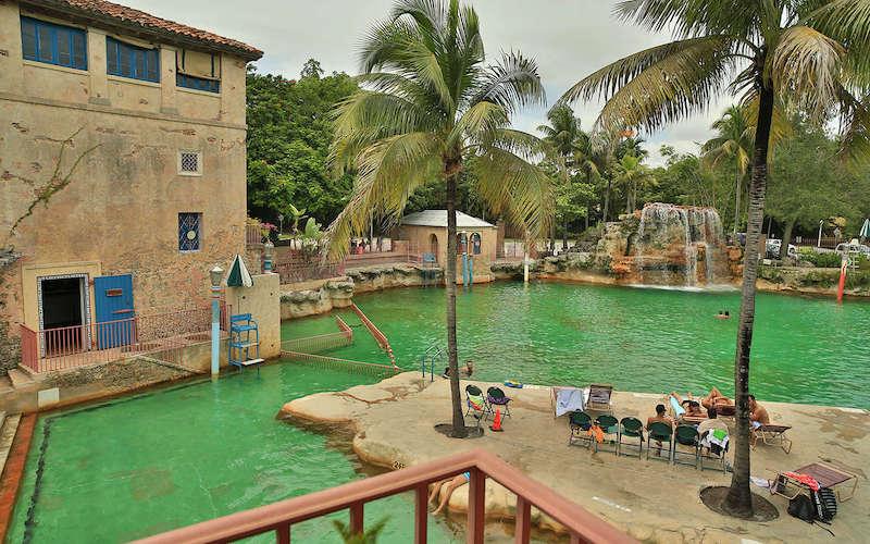 Venetian Pool em Coral Gables: lazer