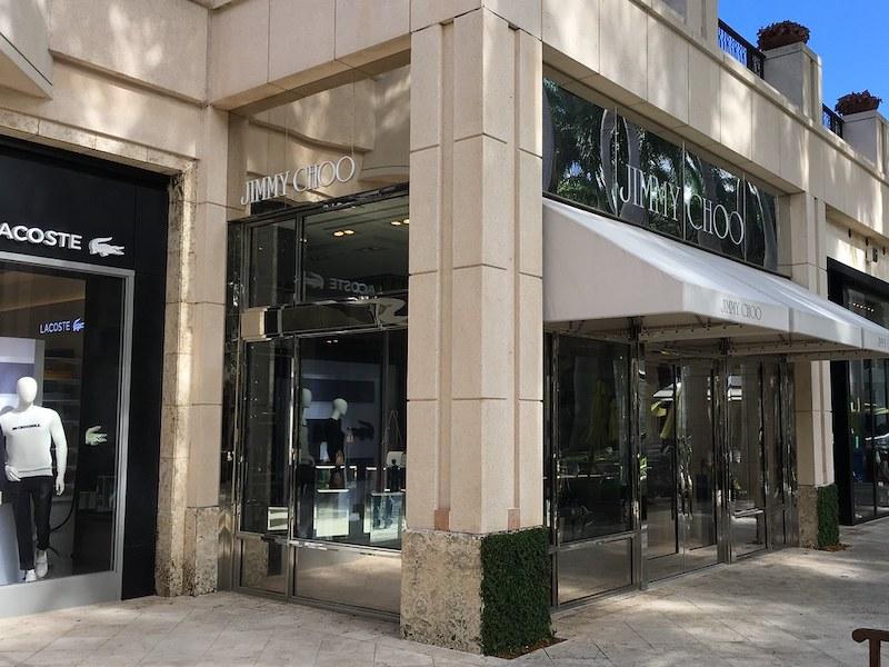 Compras em Coral Gables: lojas no shopping Village of Merrick Park
