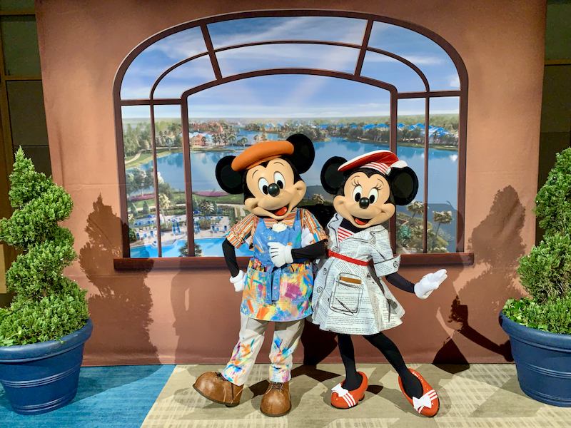 Loja La Boutique no Disney's Riviera Resort em Orlando: Mickey e Minnie