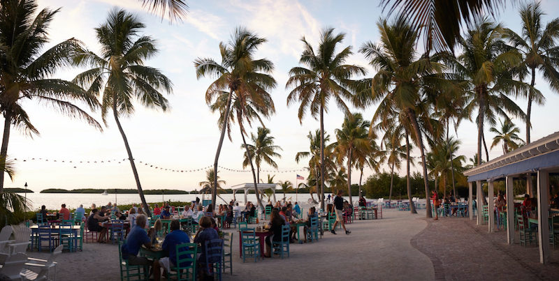 7 restaurantes em Florida Keys: restaurante Morada Bay Beach Cafe