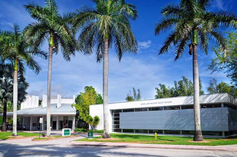 Lowe Art Museum em Miami: pavilhão