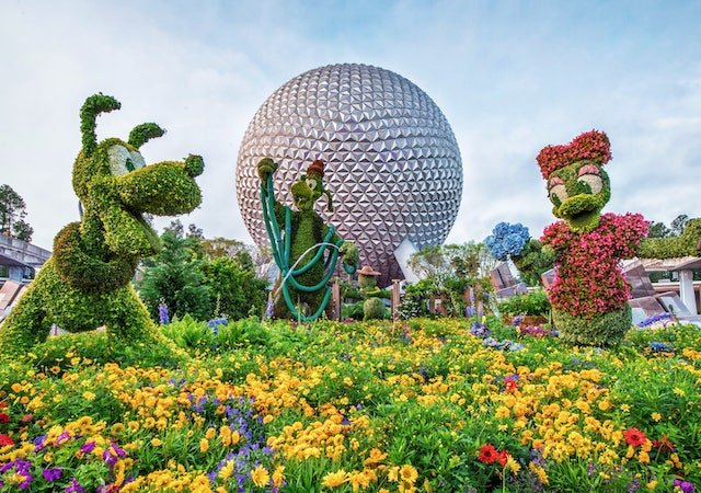 Epcot International Flower & Garden Festival 2020 na Disney Orlando