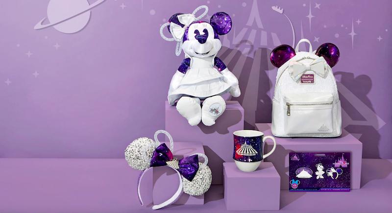 Produtos da Minnie em homenagem às atrações da Disney: produtos