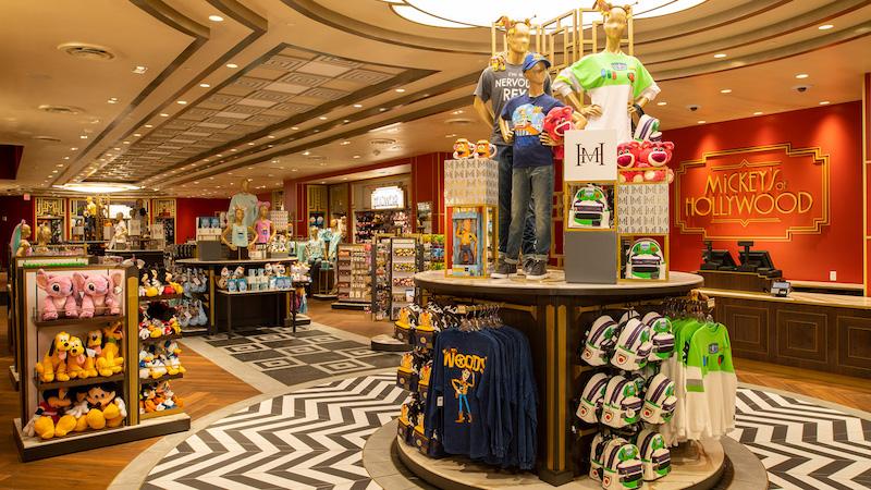 Loja Mickey's of Hollywood na Disney Orlando: produtos