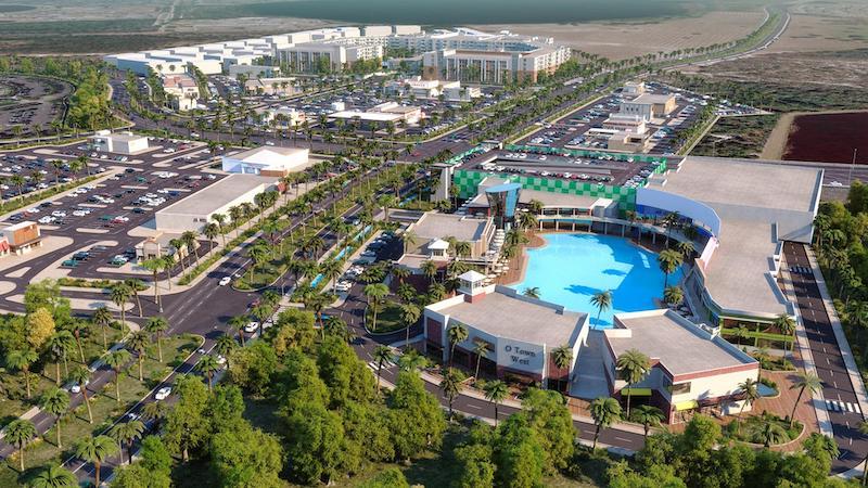O-Town West em Orlando: projeto da Unicorp