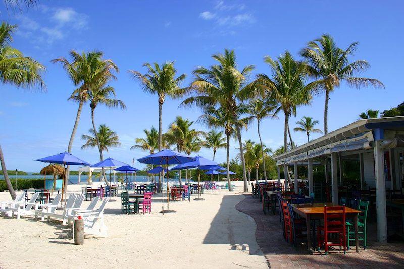 7 restaurantes em Florida Keys: restaurante Morada Bay Beach Cafe em Islamorada