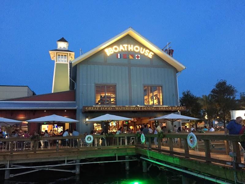Disney Orlando para adolescentes: restaurante The BoatHouse na Disney Springs