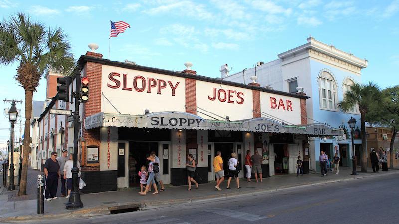 7 bares e casas noturnas em Florida Keys: Sloppy Joe's em Key West