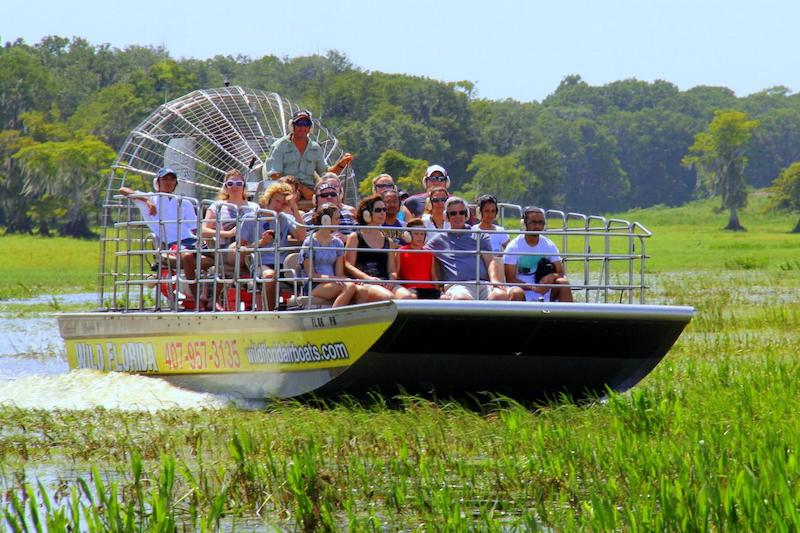 Parque Wild Florida Airboats & Gator: Airboat Tours