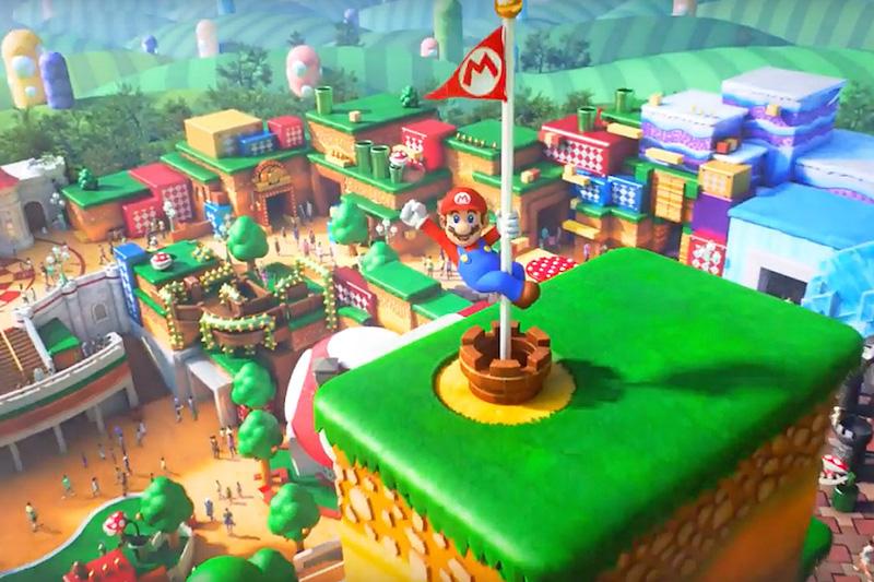 Super Nintendo World na Universal Orlando: área temática