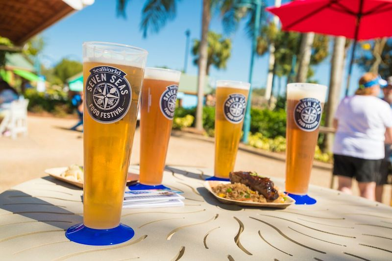 Festival Seven Seas Food no SeaWorld Orlando em 2020