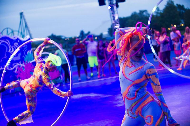 Parque SeaWorld em Orlando: Electric Ocean