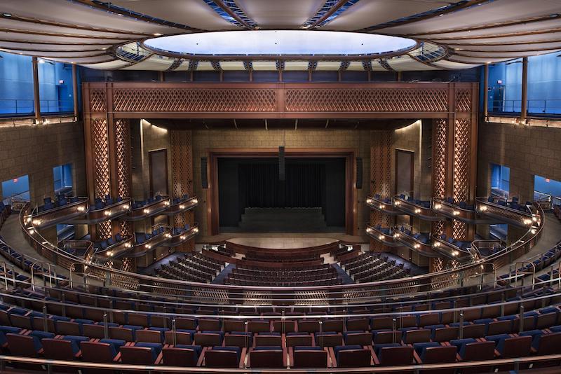 Dr. Phillips Center: o centro de artes cênicas de Orlando: interior do teatro