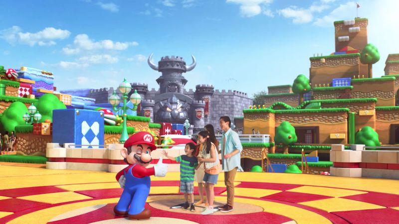 Super Nintendo World na Universal Orlando: visitantes
