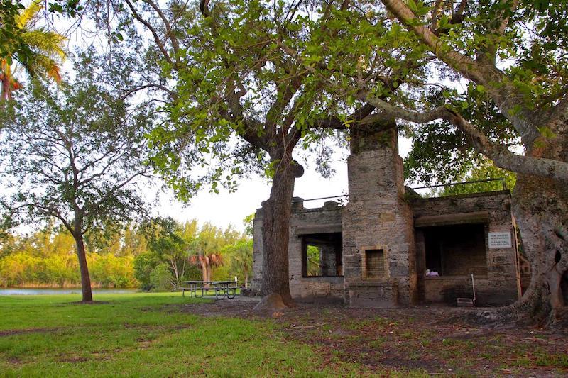 Matheson Hammock Park em Coral Gables: área de piquenique