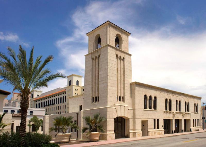 Museu Coral Gables na Flórida: edifício