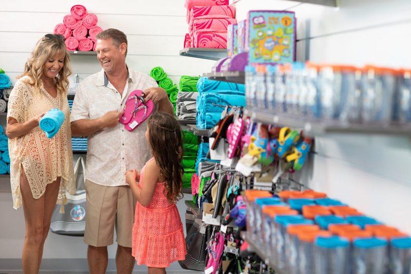 Parque aquático Island H2O Live! em Orlando: loja MEMEntos