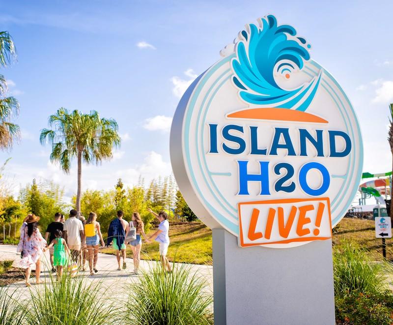 Parque aquático Island H2O Live em Orlando
