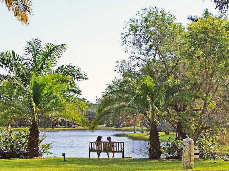 Fairchild Tropical Botanic Garden em Coral Gables: visitantes