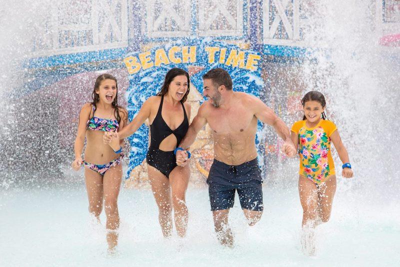 Parque aquático Island H2O Live! em Orlando: família